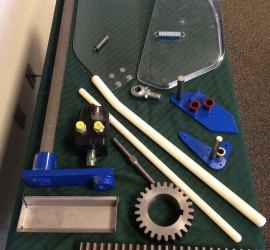Beater Rods, Steering, Stainless buckets, Custom parts, machined parts, Catcher pans, springs, wheel motors, bearings, gears, hydrostat, transmission